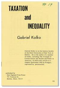 Taxation and Inequality