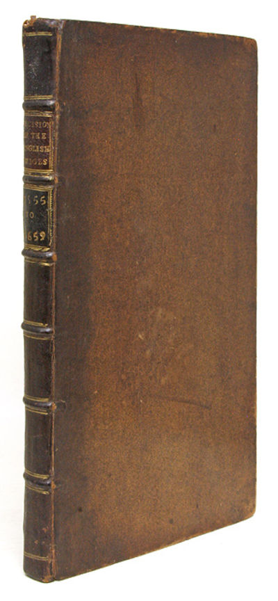 1753. Collection of Civil-War Era English Decisions . . The Decisions of the English Judges, During ...