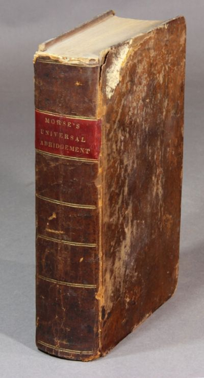 Boston: Thomas and Andrews, et al., 1814. First edition, 8vo, pp. viii, -670, ; engraved folding fro...