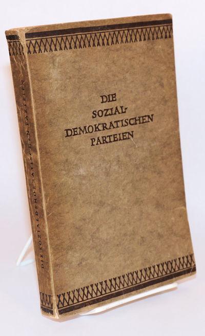 Hamburg: Verlag Carl Hoym Nachf, 1926. Paperback. 318p., softbound in 9x6 inch printed grey wraps; h...