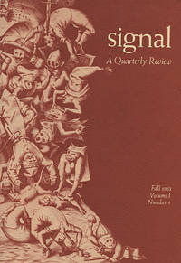 Signal : A Quarterly Review, Volume 1, Number 1 (Fall 1963)