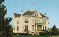 Illinois Governor's Mansion, Springfield Illinois unused Postcard