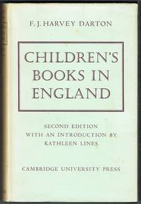 image of Children's Books In England: Five Centuries Of Social Life