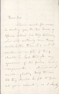 image of Fine Autograph Letter Signed to Laurence SULIVAN (Willilam John, Explorer & Naturalist, Botanist at St Helena)