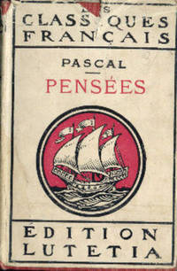 Pensees by Pascal - Hardcover - 1946 - from Books in Bulgaria and Biblio.com