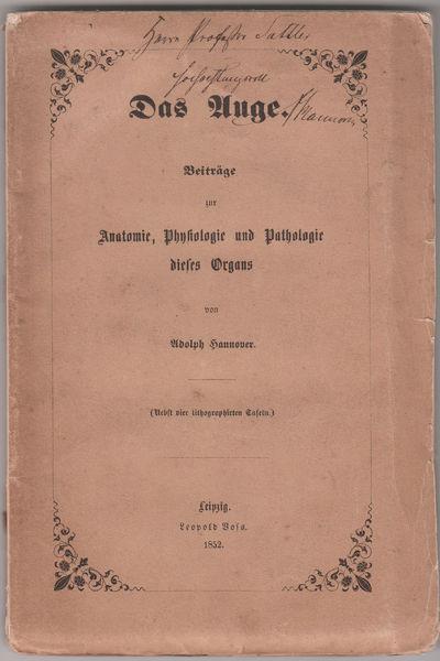Leipzig: L Boss, 1852. First German Edition.. original printed wrappers.. Good copy; rear wrapper pr...