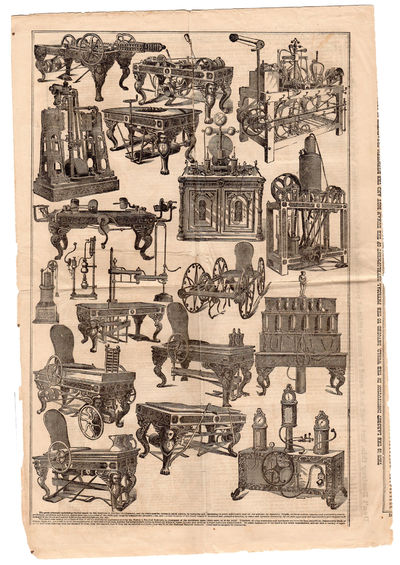: , 1876. Folded self-wraps. A fair copy, fragile, needs conservation; but for a few minor losses es...