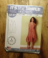 McCALL'S IT'S SEW SIMPLE : L9477, BIN #78 : Misses' Dress