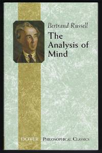 The Analysis of Mind Dover Philosophical Classics