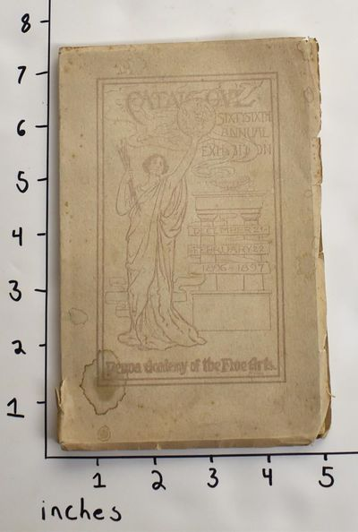 1896. VG. Wraps. 75 + plates pp. 19 bw plates. Catalogue lists 353 works in oil, 298 works in , and ...