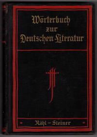 Worterbuch Zur Deutschen Literatur