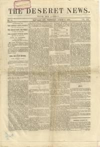 Deseret News, August 17, 1870