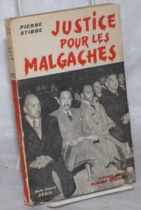 image of Justice pour les Malgaches. Preface de Claude Bourdet