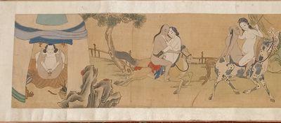 Erotica, China XIXth century Antique...