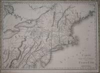 (Map / Chart of New England- USA): Carte De La Partie Septentrionale Des Etats_Unis