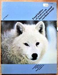 image of Food Habits of Wolves on Barren-Ground Caribou Range