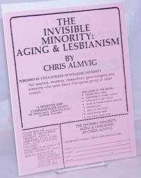 image of The Invisible Minority: aging_lesbianism [handbill]