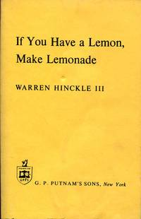 If You Have a Lemon, Make Lemonade