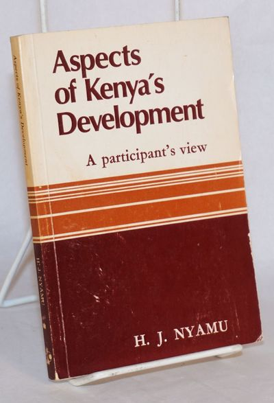 Nairobi: East African Publishing House, 1980. Paperback. 158p., softbound in 7x5 inch glazed wraps, ...
