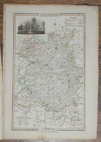 1839 Map of the County of Shropshire - taken from Pigot and Co's British Atlas Comprising the Counties of England (upon which are laid down all railways completed and in progress)