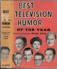 Best Television Humor of the Year (in orignal dust jacket)