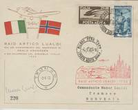 image of First Day Cover Signed, (Maner, 1912-1968, Italian Aviator, journalist and Filmmaker)