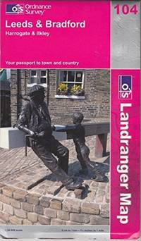 Leeds and Bradford, Harrogate and Ilkley (Landranger Maps) by Ordnance Survey - Paperback - from World of Books Ltd and Biblio.com