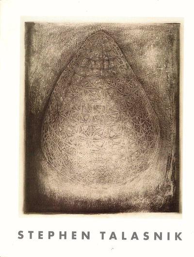 Greensboro: Weatherspoon Art Gallery, 1995. Paperback. Very good. pp. Light rubbing, else very good ...