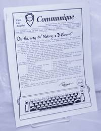 image of East Los Angeles Communiqué: the newsletter of the East Los Angeles Jaycees; May-June 1988: On the way to making a difference