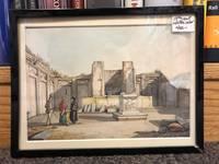 Ruins Scene Watercolor