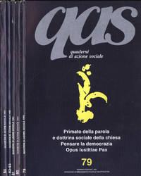 QAS Quaderni di azione sociale Anno 1991 n. 79 - 80 - 81 - 82, 83 - 84
