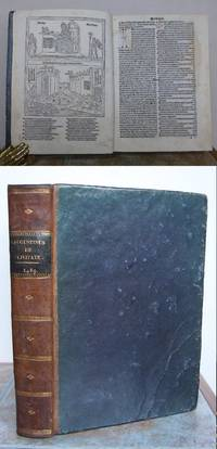 DE CIVITATE DEI, THE CITY OF GOD. Commentaries by Thomas Waleys and Nicholas Trivet.
