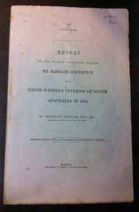 Report on the Plants Collected During Mr. Babbage's Expedition into the North-Western Interior of South Australia                        1858
