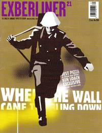 """image of EXBERLINER 21 - """"The English-Language Paper for Berlin"""" - November 2004"""