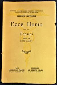 Ecce Homo Suivi Des Poesies
