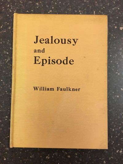 Minneapolis: Faulkner Studies, 1955. Limited First Edition. thin 8vo., 9pp.; VG; spine orange with b...