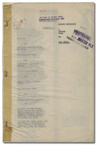 image of Madame Butterfly (Original screenplay for an unproduced film)