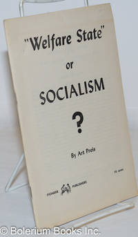 """image of Welfare state,"""" or socialism"""