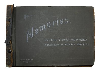 A Lovely Scrapbook From A Los Angeles Couple During the Early 1900s. . . DORRANCE, Walter and Gertru...