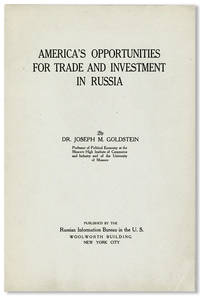 America's Opportunities for Trade and Investment in Russia