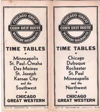 Time Tables - Chicago Dubuque Rochester St. Paul Minneapolis and the Northwest. Revised to...