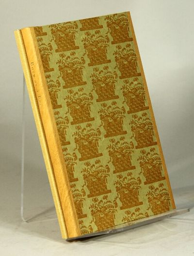 ; hand-colored title-page vignette and 1 color wood engraving used a headpieces throughout; original...