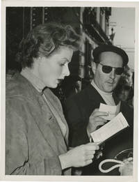 image of Journey to Italy [Viaggio in Italia] (Original photograph of Ingrid Bergman and Roberto Rossellini from the set of the 1954 film)