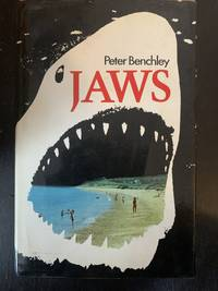 Jaws by Peter Benchley - First Edition - 1974 - from The Book and Record Bar (SKU: CBRB403)