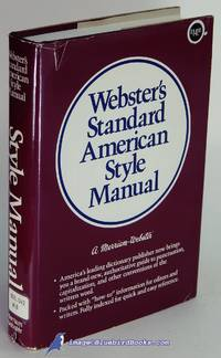 Webster's Standard American Style Manual by  John M. (editor) MORSE - Hardcover - 1985 - from Bluebird Books (SKU: 50660)
