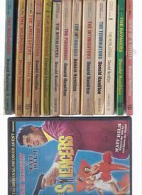 Matt Helm Series / Books & a DVD of The SILENCERS Starring Dean Martin as Matt Helm: Death Citizen; Silencers; Ambushers;  Ravagers; Devastators; Betrayers; Menacers; Interlopers; Poisoners; Intriguers; Intimidators; Terminators; Retaliators -13 Volumes
