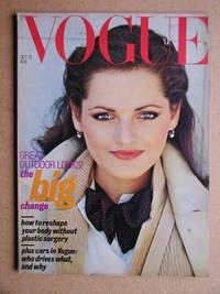 image of Vogue. October 15, 1977.