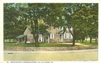 Washington's Headquarters, Valley Forge, Pa -1920s unused Postcard