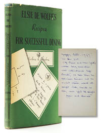 image of Elsie de Wolfe's Recipe for Successful Dining