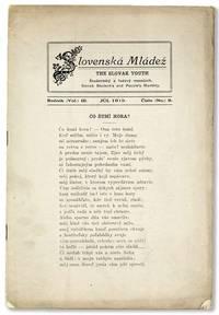 Slovenská Mládež / The Slovak Youth, Vol. III, no. 9, Júl [July], 1919